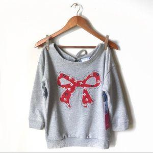 Tommy Girl Bow Sweatshirt